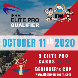 new date ifbb bellux cup 2020