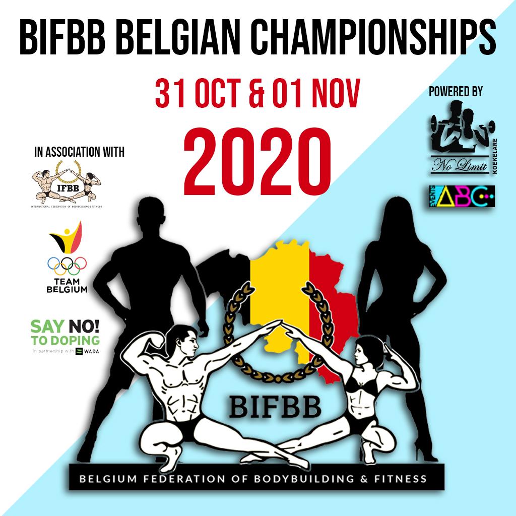 BIFBB Championnat Belge 2020