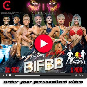 personalized video abc creative house BIFBB Bk
