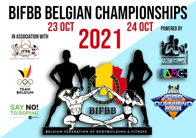 BIFBB Belgische Kampioenschappen 2021
